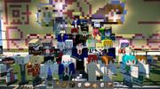 【Minecraft】学園建設終了記念
