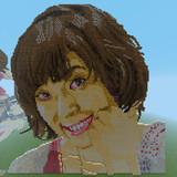 【Minecraft】中村繪里子さんお誕生日記念ドット