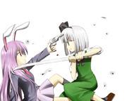 うどんげ vs みょん