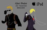 ウェスカー&ジル iPod風