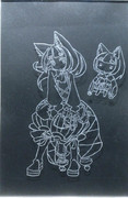 ケモミミを彫刻(1)