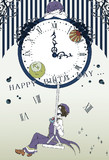 The swing of a clock