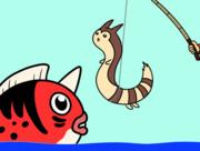 【GIF】釣り