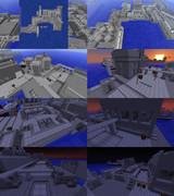 マイクラでウーハイ産業港をちょこっと作ってみた