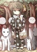 森を守っている子