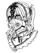 ガスマスクの眠り姫
