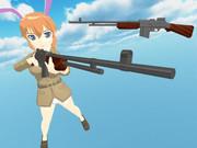 【MMD】BAR(自動小銃)【配布】