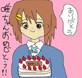 平沢唯ちゃん誕生日おめでとうございます!!