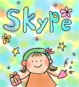 Skype 待受(´・ω・`)