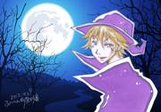 月夜の少年