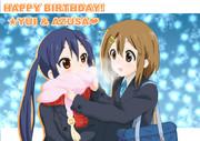 HAPPY BIRTHDAY!ゆいあず!!