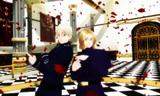 【MME】薔薇の花びらパーティクル配布