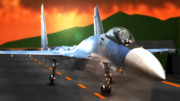 戦闘機su-35