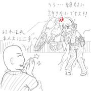 [落書き]エンジェルさんの歩行訓練