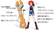 【MMD】メガ工具No.001 レンチブレード その1
