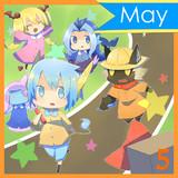 5月(テンキャラ合作カレンダー) ※再投稿