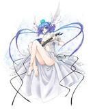 蒼姫ラピスのCDジャケットイラストを描かせていただきました