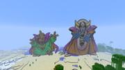 【Minecraft】 ドラゴンクエスト3 バラモス&ゾーマ 【マインクラフト】