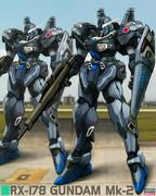 ガンダムMk-2 (洋上迷彩)