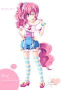ポニー擬人化プロジェクト第四弾Pinkie Pie (PP)1