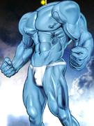 【再】アニメ版の筋肉があんまりなので、しっかりマ★ギのウーゴ君の筋肉を描いてみた(´◔◞౪◟◔)