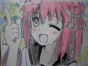 \アッカリ~ン/を描いてみた。