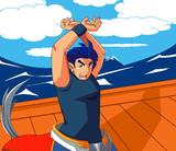 舟の上でTMごっこ(もどき)