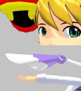 【MMDモデル】P@Pプーシャヤンスタの頭とカラヴィンカの腕【ノベM@S】