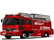 札幌市消防局 救助車 西6