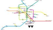 東京ビッグサイトへのコミケ時始発乗換図