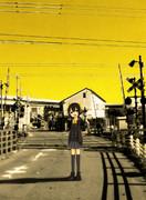 空が黄色いから