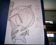 シャーペンと筆ペンで描いてみた(2)