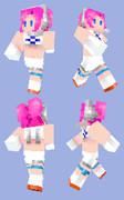 【Minecraft】スペースチャンネル5:ウララ【スキン】