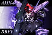 AMX-009 ドライセン(袖付き仕様)