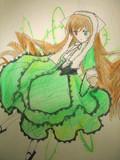 中学ンときに描いた翠ちゃん