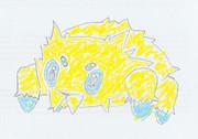 手描きバチュル2(模写)