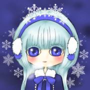 Twitterアイコン(雪)