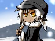 雪景色+みたらし