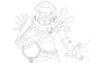 キャプテン・ファラオ 【線画】