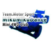 MMDモータースポーツ部ミニ四駆支部 ロゴ試作01【使っていいのよ】