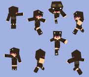 【Minecraft 】コウモリパーカー