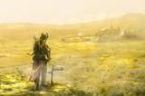 城下町にたどり着いた冒険者