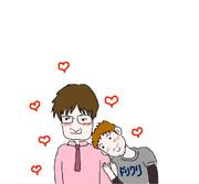 湯毛さんとドグマさん♡