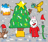 ちょっと早い森の中のクリスマス