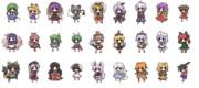 デフォルメキャラクター素材 091-117