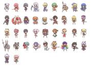 デフォルメキャラクター素材 303-340
