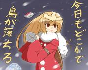 サンタさんがんばる
