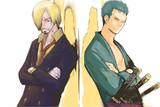 【ワンピース合作】サンジとゾロ【うあばぁ&まさを】