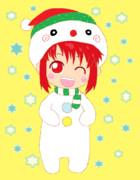 .。.:*・゚X'mas:☆雪だるマオ*・゚。:.*