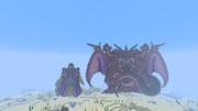【Minecraft】 ドラゴンクエスト5 ゲマ&ミルドラース(変身後) 【マインクラフト】